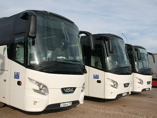 Пассажиры «прилетели» в Магнитогорск на автобусах «Башавтотранса»