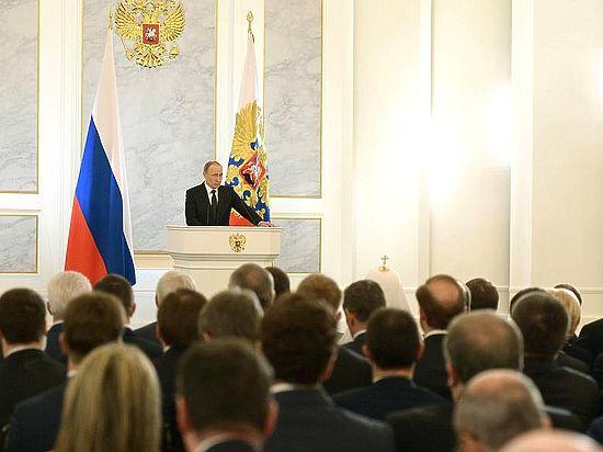 Руководитель республики обратился кГоссобранию сежегодным Посланием