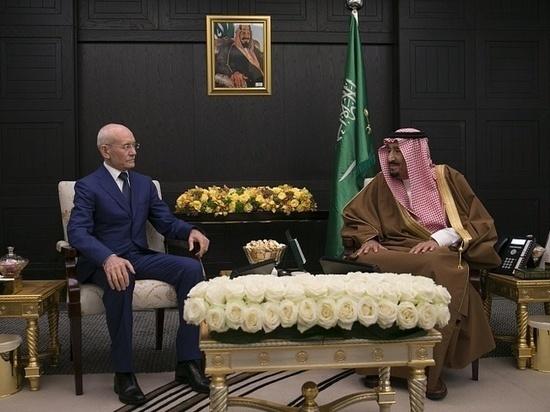 Рустэм Хамитов предложил королю Саудовской Аравии побывать в Башкирии