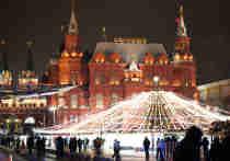 На новый год Москва засветится в космосе