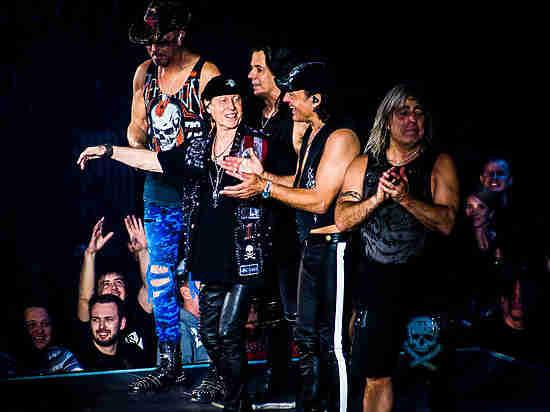 Легендарная группа Scorpions выступила в Уфе, собрав самую большую площадку